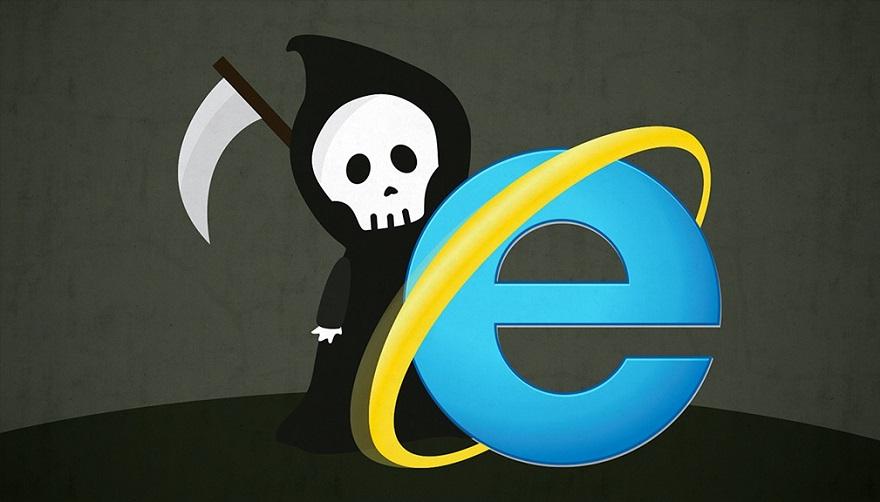 Microsoft Explorer po 25 rokoch končí.